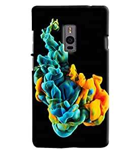 Blue Throat Fog Made Of Different Colors Printed Designer Back Cover For OnePlus 2