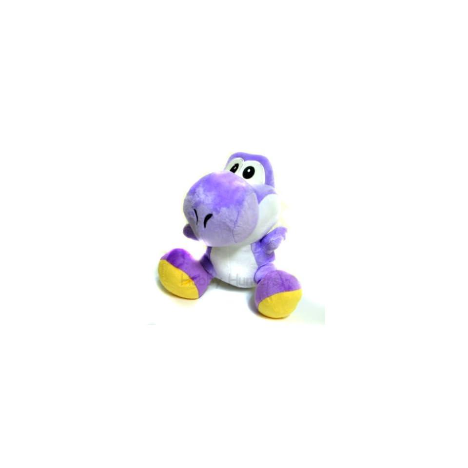 Plush   Nintendo Super Mario Bros   10 Soft Doll   Purple Yoshi