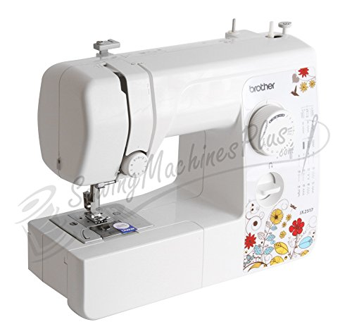Brother Jx2517 Lightweight and Full Size Sewing Machine.