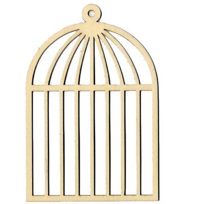 Oiseaux cages et accessoires d co en bois grande cage for Deco cage a oiseaux