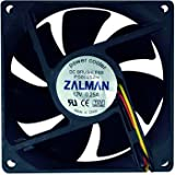 80mm Zalman ZM-F1+ (plus) Quiet Case Fan Speed Adjustable