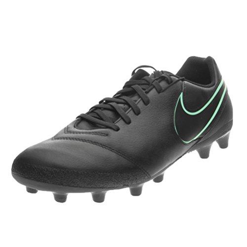 Nike Tiempo genio ii leather ag-pro - Scarpe da calcio, Uomo, colore Nero (black/black), taglia 44