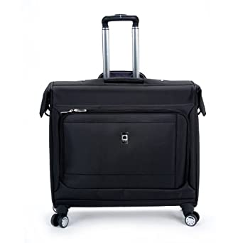 Delsey Luggage Helium Breeze 4.0 Spinner Trolley Garment Bag, Black, One Size