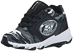 Heelys High Tail Skate Shoe (Little Kid/Big Kid), Black Camo, 2 M US Little Kid
