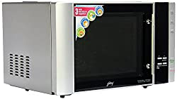 Godrej InstaCook GMX 30 CA1 SIM 30-Litre Convection Microwave Oven (Silver)