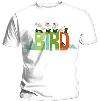 Official t shirt family guy peter bird is the word s for Family guy t shirts amazon