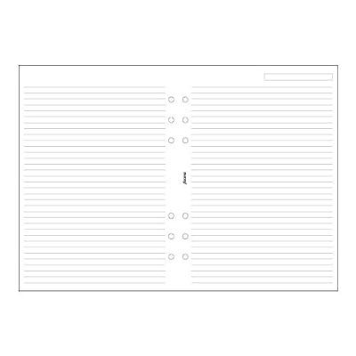 Filofax A5 Ruled White Paper (B343008)