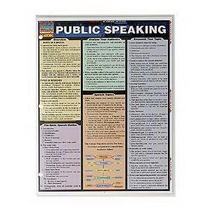 Public Speaking Quick Study Guide
