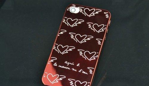Agnes B. Iphone 4/4S Case (Pink)