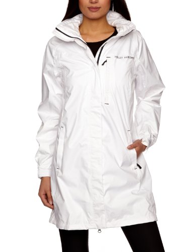 Helly Hansen Women's New Elbrus Waterproof Jacket - White, X-Small