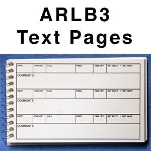 Amazon.com: Amateur Radio Waterproof Log Book ARLB3