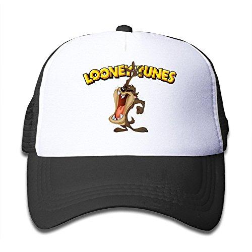 xcarmen-personalized-tasmanian-devil-taz-looney-tunes-baby-hats-pink-black