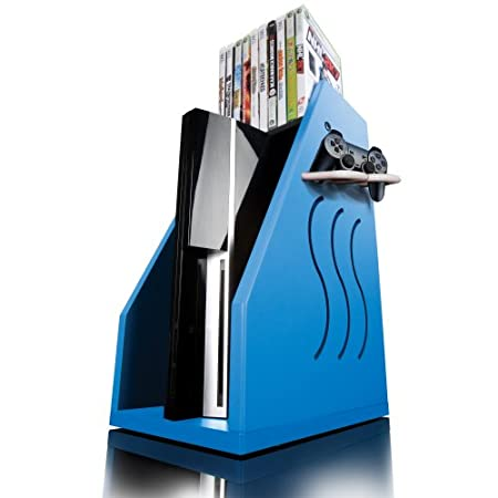GameOn Video Gaming Console Storage - Blue