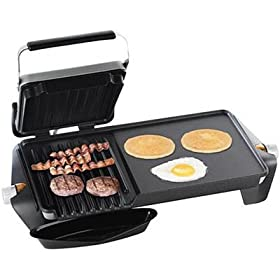 George Foreman Side-by-Side Grill and Griddle