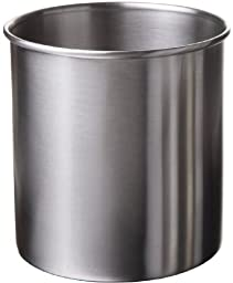 Amco 4-Quart Capacity Large Stainless Steel Crock