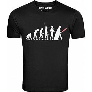 Starwars Darth Vader Evolution Mens Black T-shirt