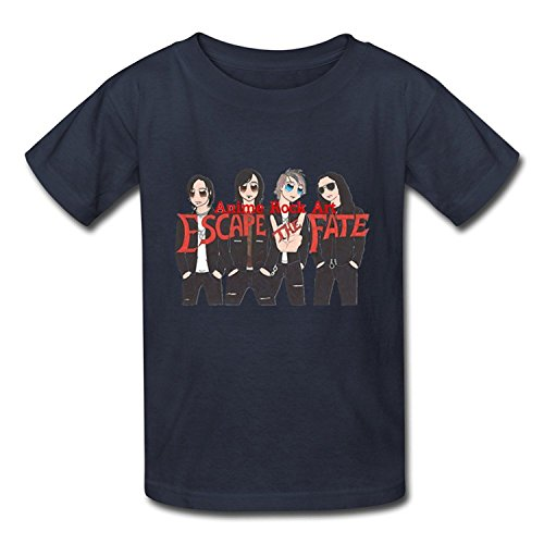 Youth Heart Casual Escape The Fate T-ShirtYILIAX33956XLarge