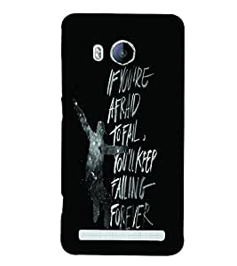PrintVisa Quotes & Messages Attitude Life 3D Hard Polycarbonate Designer Back Case Cover for Vivo Xshot