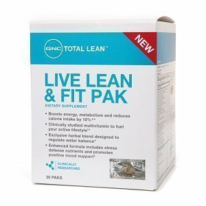 Gnc Total Lean Live Lean & Fit Pak, 30 Ea