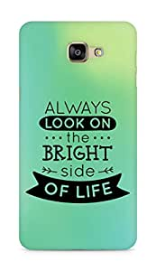 Amez Always look on the Bright Side of Life Back Cover For Samsung Galaxy A9