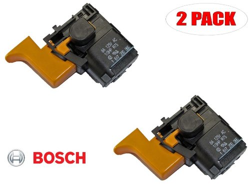 Bosch 11200Vsr Electric Drill Replacement On Off Switch # 1617200066 (2 Pack)