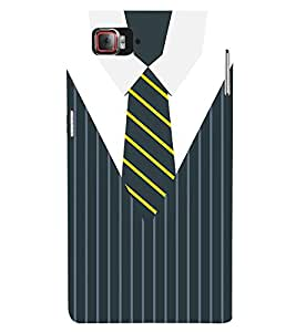 Stripes Executive Dress 3D Hard Polycarbonate Designer Back Case Cover for Lenovo Vibe Z2 Pro K920
