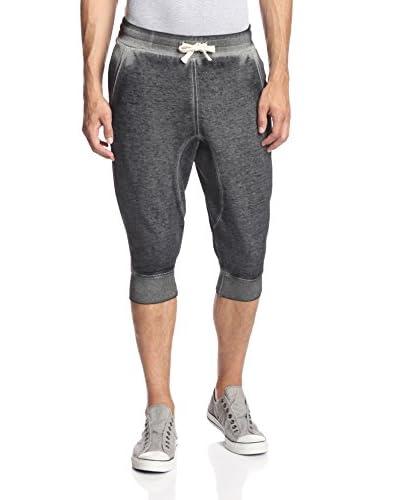 DARRING Men's Burnout Fleece Jogger Short