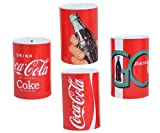 Savings Money Tin 14.5x11cm Sealed Moneybox Coca-Cola Coke Pack Of 4