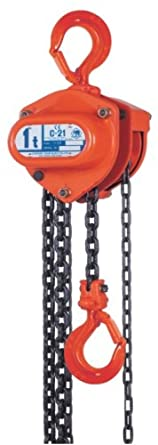 Elephant Lifting C21 Hand Chain Hoist, Hook Mount