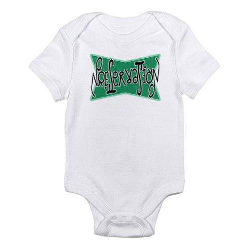 CafePress Preservation Ambigram Infant Creeper Infant Bodysuit – 3-6M Cloud White