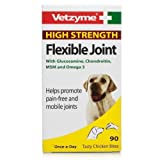 Vetzyme High Strength Flexible Joint Tablets (Pot Size: 90 Tablets)