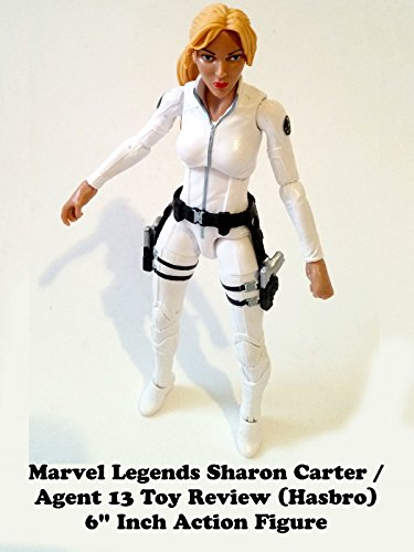 "Marvel Legends SHARON CARTER / AGENT 13 Toy Review (Onslaught BAF) 6"" action figure"
