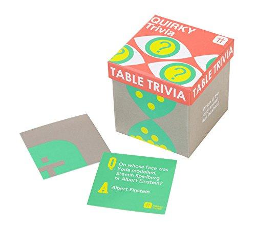 Talking Tables Jeu de Table Trivia Jeu Insolite