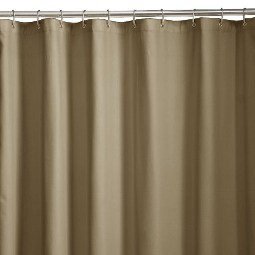 Details about Maytex Microfiber Shower Curtain/Liner, Linen, Free ...