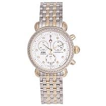 Michele Womens CSX-36 Diamond Two-tone Chronograph Watch MW03M01C5046