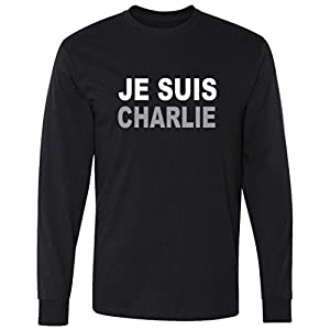 Je Suis Charlie, I Am Charlie Support France long sleeve T-Shirt
