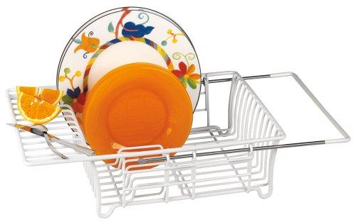 Better Housewares Adjustable Over Sink Dish Drainer