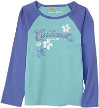 Carhartt  Big Girls39 Camo Flower Raglan Tee