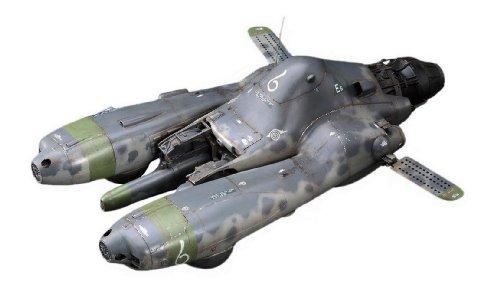 1/20 マシーネンクリーガーシリーズ 反重力装甲戦闘機 Pkf.85 ファルケ エクサイマーレーザーガン装備 (64101)