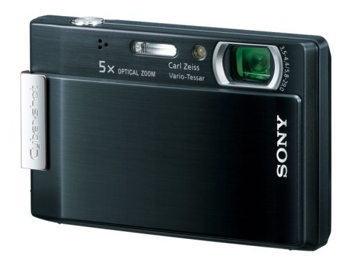Sony DSC T100 with FREE OFFICIAL 4GB SONY PRO DUO  &  SONY LCS-TWB BLACK LEATHER CASE!