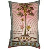 Koko Botanica Decorative Pillow - Carica Papaya - 13