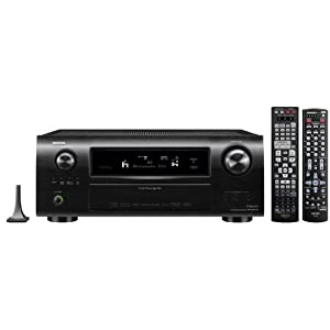 Denon AVR-3311CI 7.2-Channel Network Home Theater Receiver with HDMI 1.4a (Black)