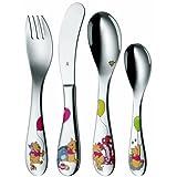WMF 1283506040 Children's Cutlery Set Disney Winnie the Pooh 4 Pieces