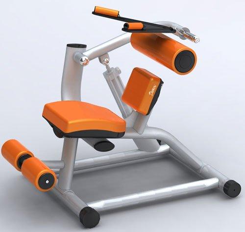 油圧マシン、 GYMシリーズ アブドミナル・クランチ/バックエクステンション(腹筋を鍛える器具)  DK-1208