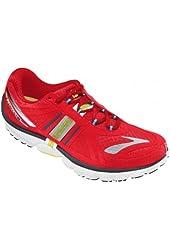 Brooks Men's PureCadence 2 Lightweight Running Shoes, HiRskRed/Nghtlf/Eslvr/Blck/Wht