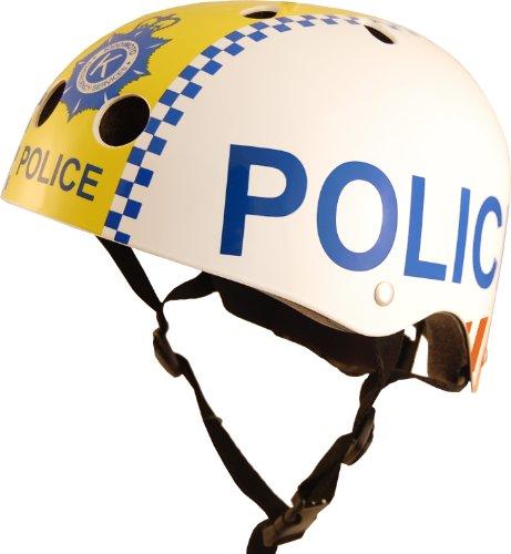 Kiddimoto - 2042318 - Casque - Police - Taille S