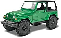 #1686 Revell Snap Tite Build and Play Jeep Wrangler Rubicon 1/25 Scale Plastic Model Kit,Needs Assembly