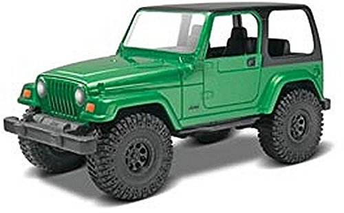 #1686 Revell Snap Tite Build and Play Jeep Wrangler Rubicon 1/25 Scale Plastic Model Kit,Needs Assembly (Car Model Glue compare prices)