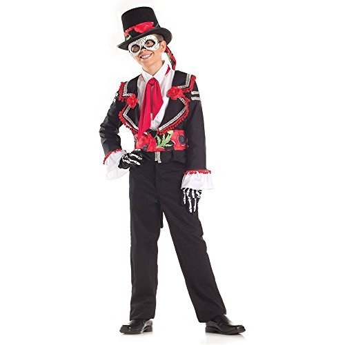 Big Boys' Day Of The Dead Costume