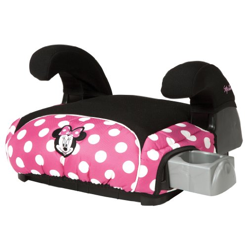 Disney Deluxe Belt-Positioning Booster Car Seat, Minnie Dot front-87756